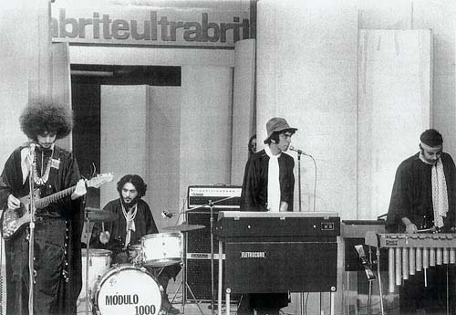 Módulo em ação no Festival da Record (1969)
